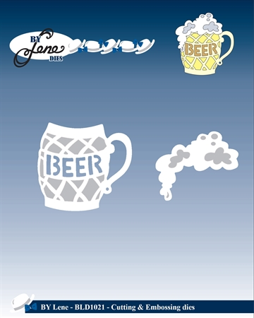 By Lene Design - Die - Beer mug - BLD1021